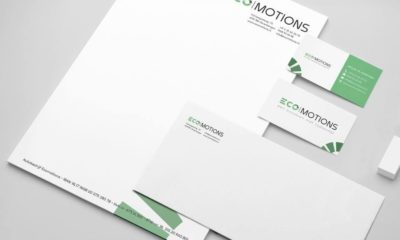 Briefpapier, envelop en visitekaartje