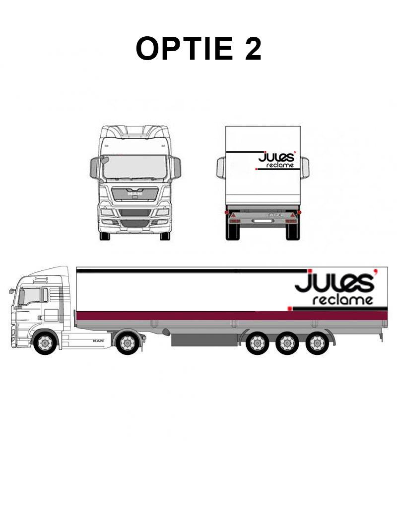 vrachtwagens bestickeren